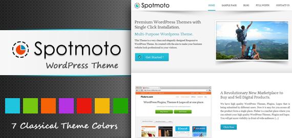 SpotMoto WordPress Theme