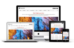 Responsive 2 WordPress Portfolio Theme