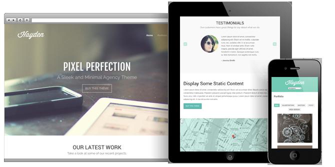 Hayden Responsive WordPress Agency Theme