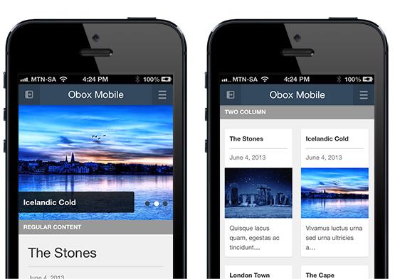 Obox Mobile 2 WordPress Plugin