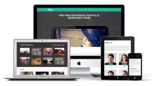 OnePager WordPress One Page Portfolio Theme