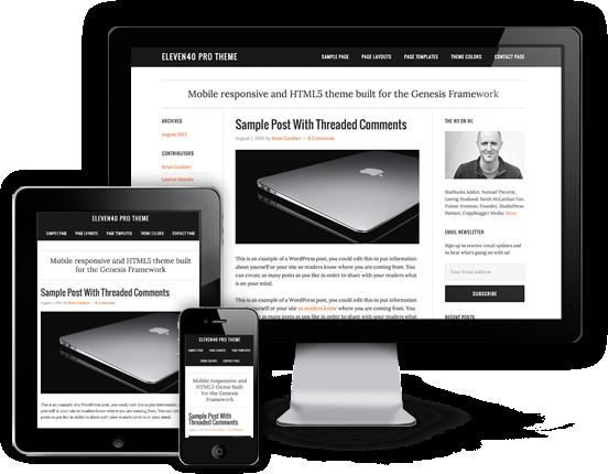 Eleven40 WordPress Support For Schema.Org Theme