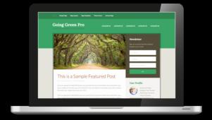 Going Green Pro WordPress Responsive Theme
