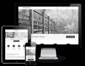 Minimum Pro Responsive WordPress Portfolio Theme
