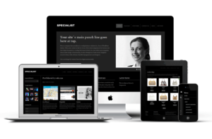 Specialist v2 Responsive Mobile WordPress Theme