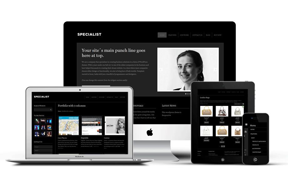 Specialist v2 Responsive Mobile WordPress Theme
