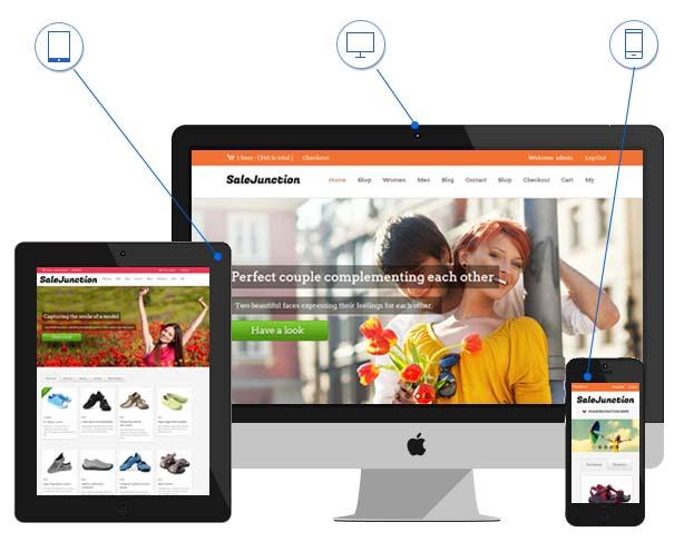 SaleJunction Responsive eCommerce WordPress Theme