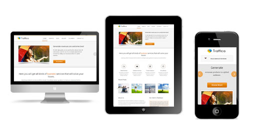 Traffica WordPress Responsive Theme