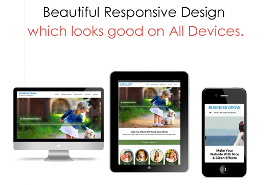 Business Grow Responsive WordPress Theme