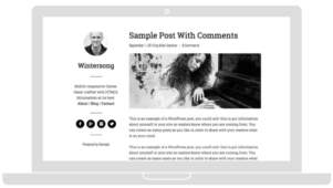 Wintersong Pro WordPress Theme