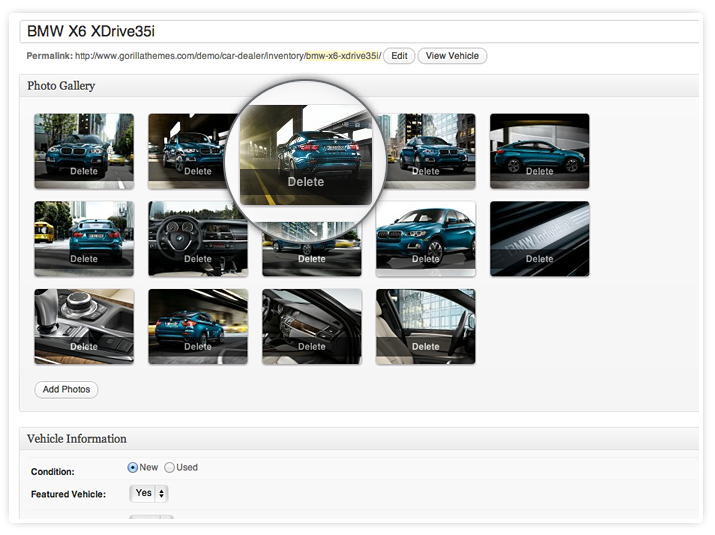 Automative Gorgeous Galleries