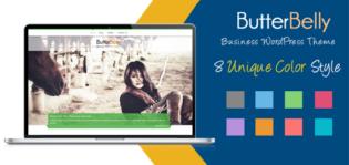 ButterBelly WordPress Business Portfolio Theme