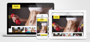Energy WordPress Responsive GYM Theme