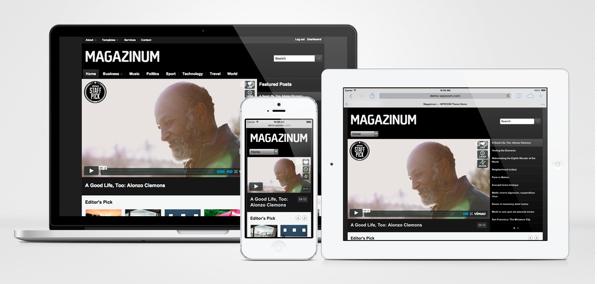 Magazinum Responsive WordPress Magazine Theme