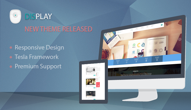 Display WordPress Business Theme