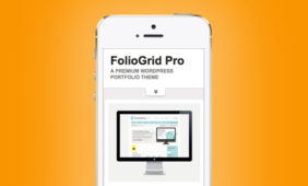 FolioGrid Pro WordPress Pinterest Like Theme