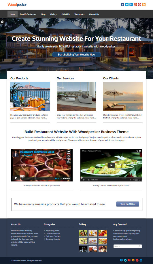 Multipurpose Responsive Business Design Theme