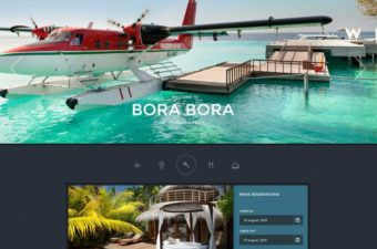 Paradise Cove WordPress Theme for Hotel Business