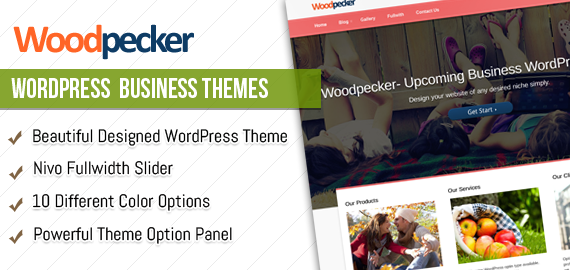 Woodpecker WP Responsive Theme