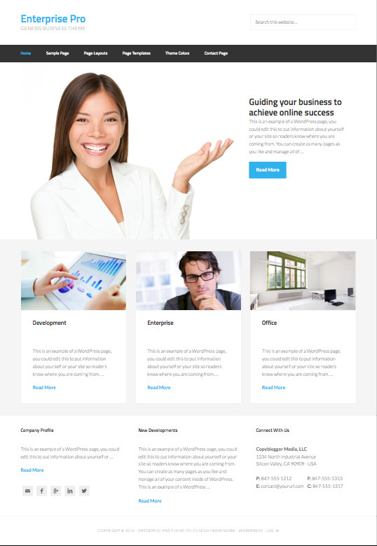 Enterprise Pro WordPress Theme – Wpchats.com