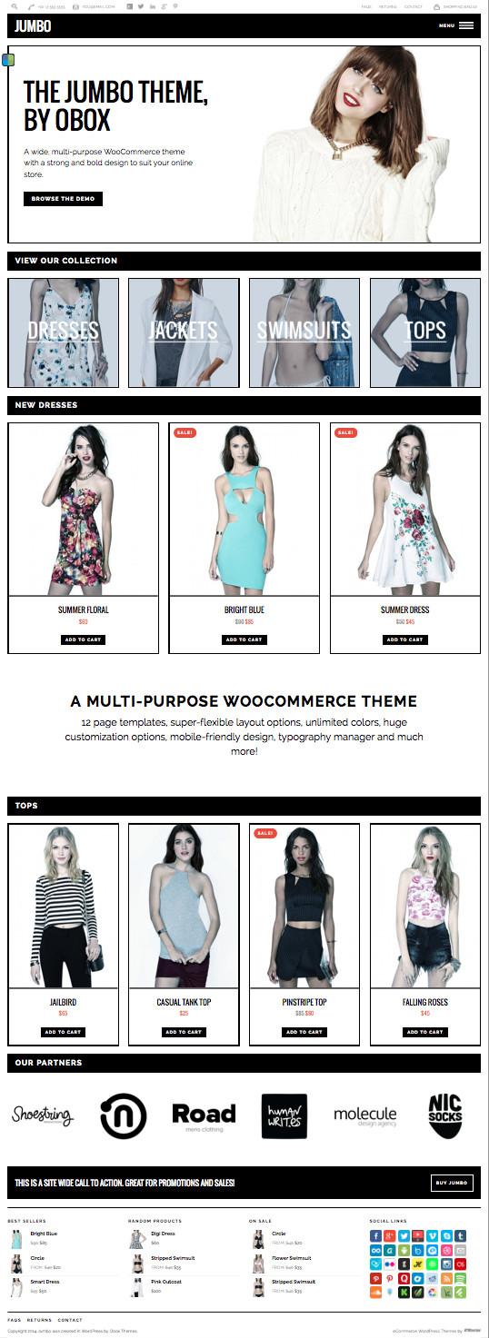 Jumbo Online Store Theme – Wpchats.com