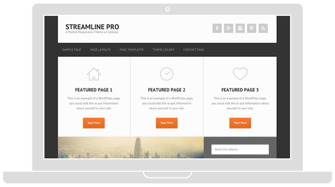 Streamline Pro Content-Based Theme – Wpchats.com