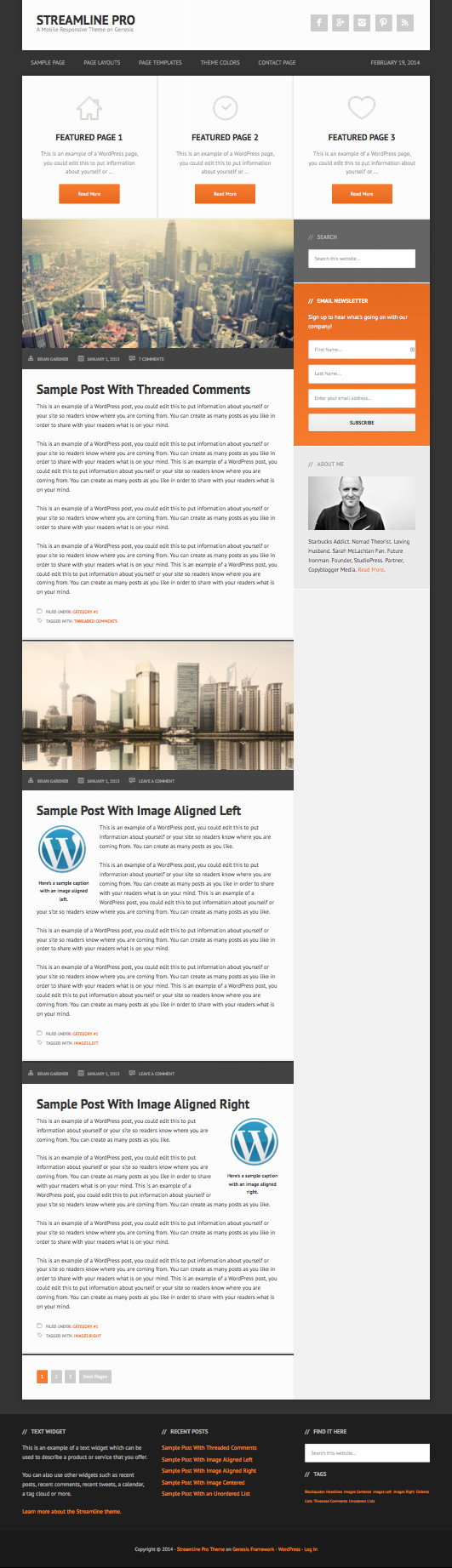 Streamline Pro Newspaper Theme – Wpchats.com