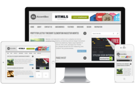 AccentBox Free Responsive HTML5 Theme