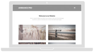 Ambiance Pro Responsive Photography Theme