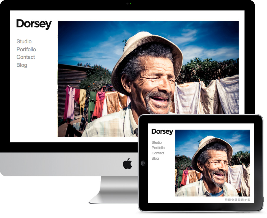 Dorsey Responsive Illustrators Theme