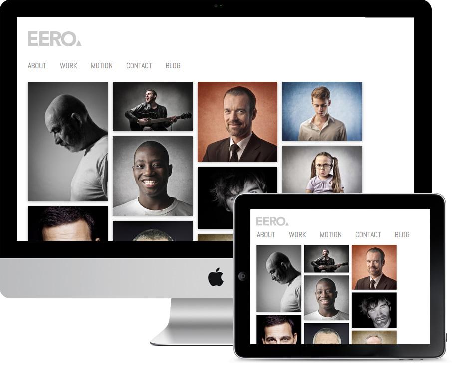 Eero Responsive HD Portfolio Theme