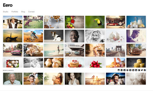 Eero Responsive WordPress Photography Theme