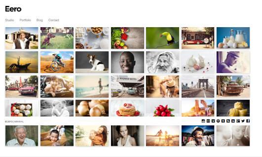 Eero Responsive WordPress Photography Theme