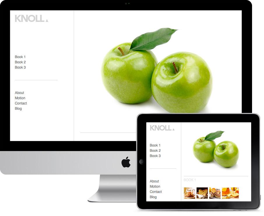 Knoll – Thumbnail Masonry Portfolio Theme