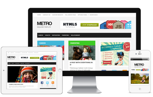 Metro WordPress Windows Metro Style Theme