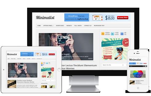 Minimalist Responsive WP Blog Theme