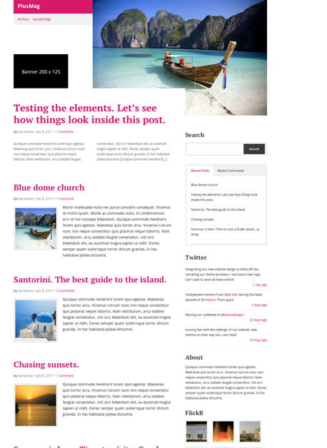PlusMag WordPress Magazine Authors Theme