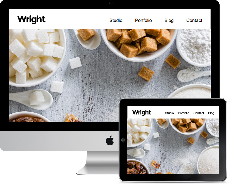 Wright WordPress Lightbox Galleries Theme