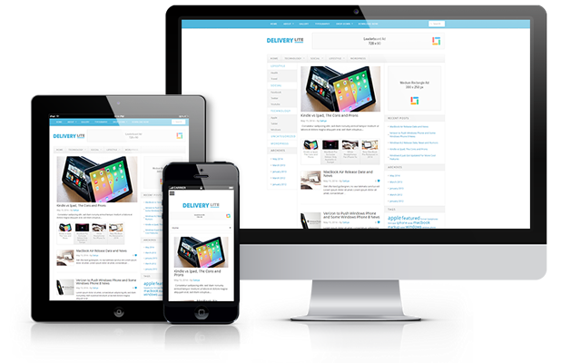 Delivery Lite Free WordPress Magazine Theme