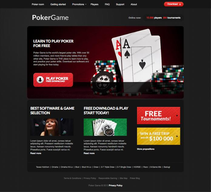 Designing a Responsive Casino Website & It's Development
