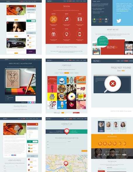 BizNex WordPress Multi Page Theme
