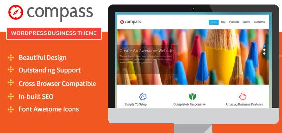 Compass WordPress Animation Effect Theme