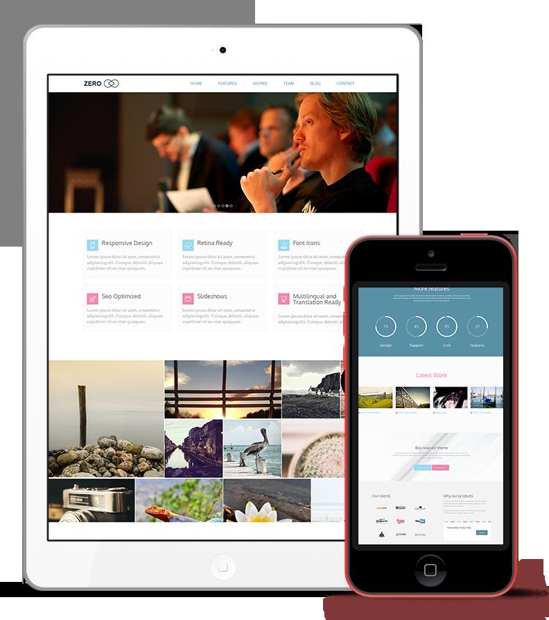 Zero WordPress Responsive Agency Theme