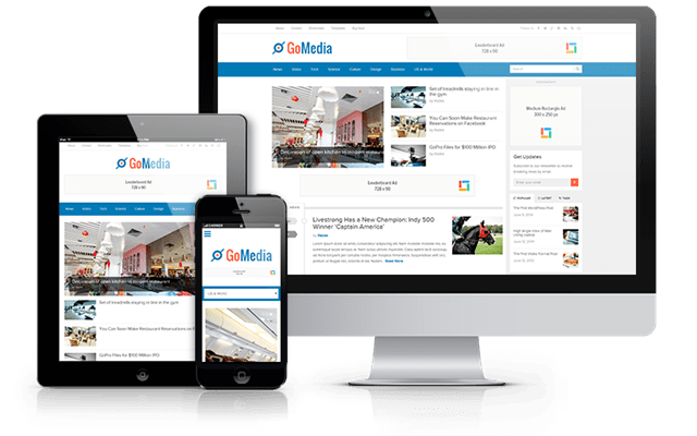 GoMedia WordPress Responsive Magazine Theme
