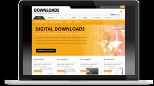 Responsive WordPress Software Downloads Theme