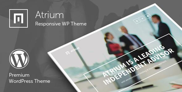 Atrium Responsive WP Blogging Theme