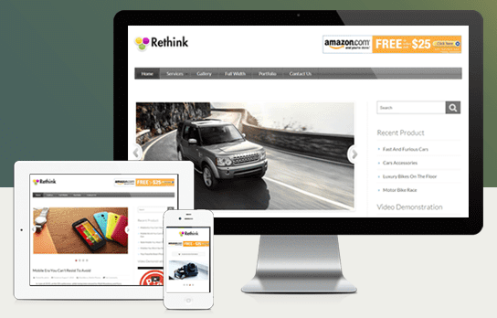 ReThink v2 WordPress Affiliate System Theme
