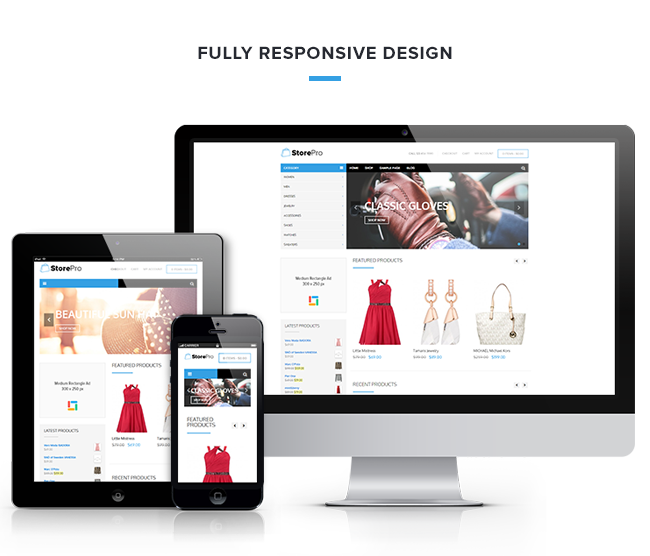 StorePro Responsive WordPress eCommerce Theme