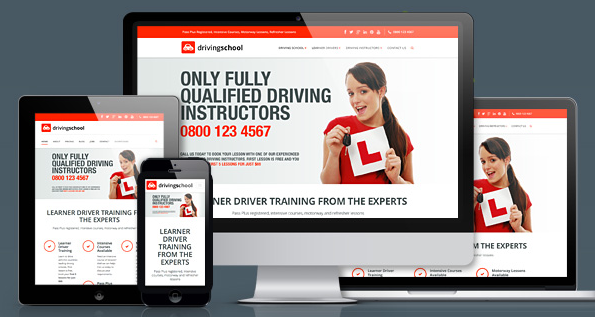 Driving School Pro Responsive WordPress Theme