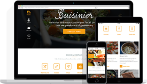 Cuisinier Responsive WordPress Food Blog Theme